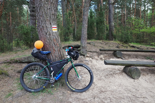Bikepacking Warsawa - Rzewnica