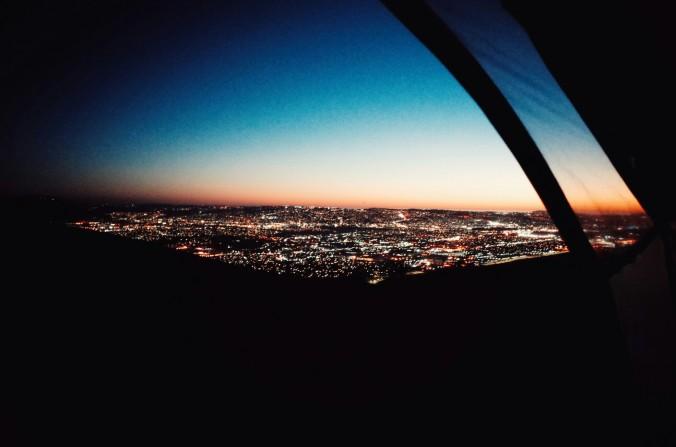 Pogled na mesto Tijuana.